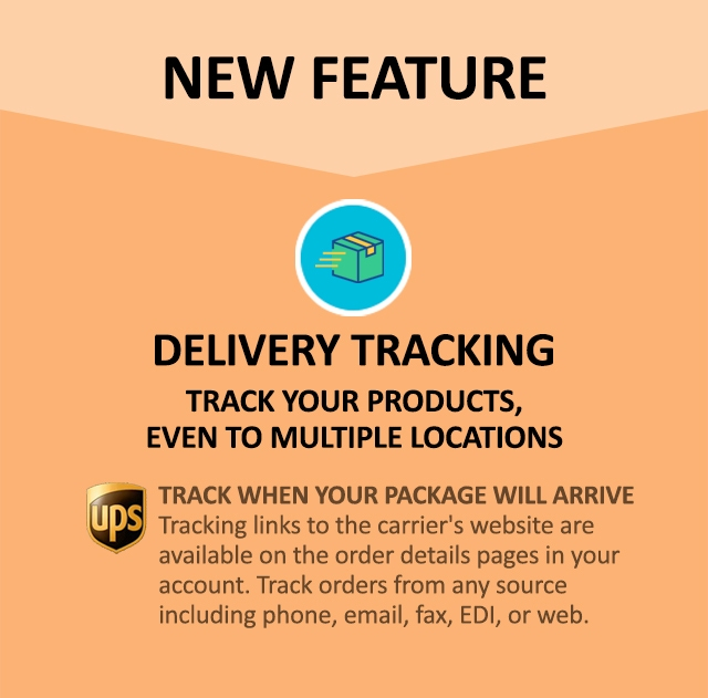 New Delivery Tracking