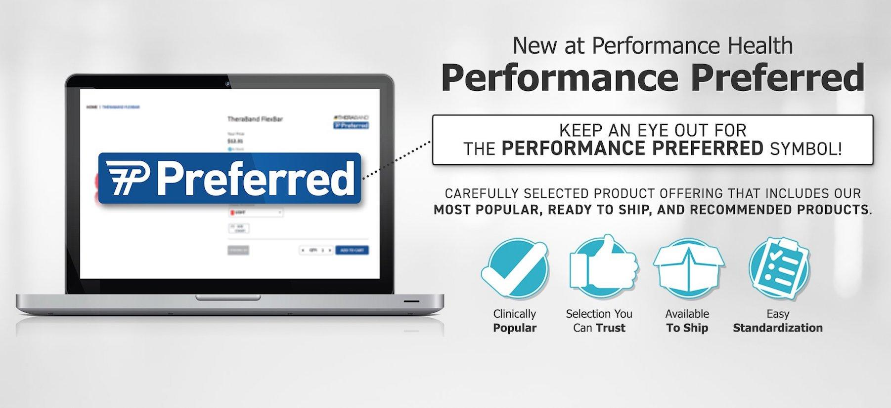 Performance Preferred Products At Performance Health