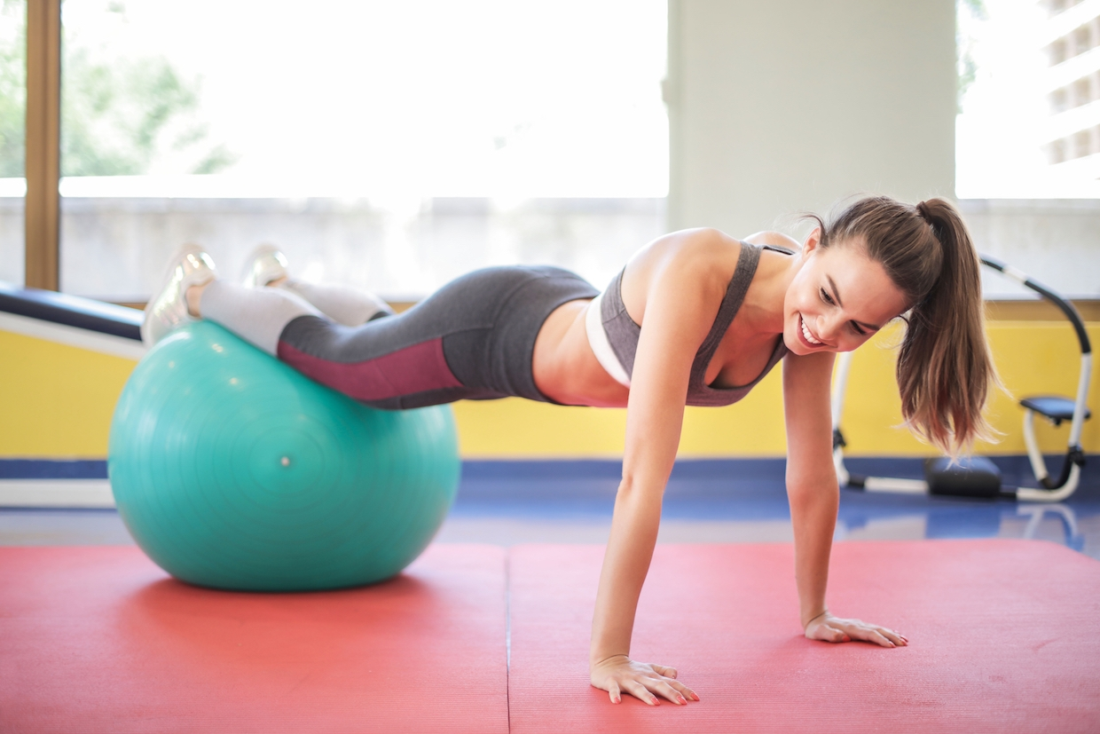 A Challenging Ab Workout That's Actually Fun