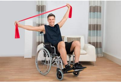 Resistance Band Exercises for Wheelchair Users