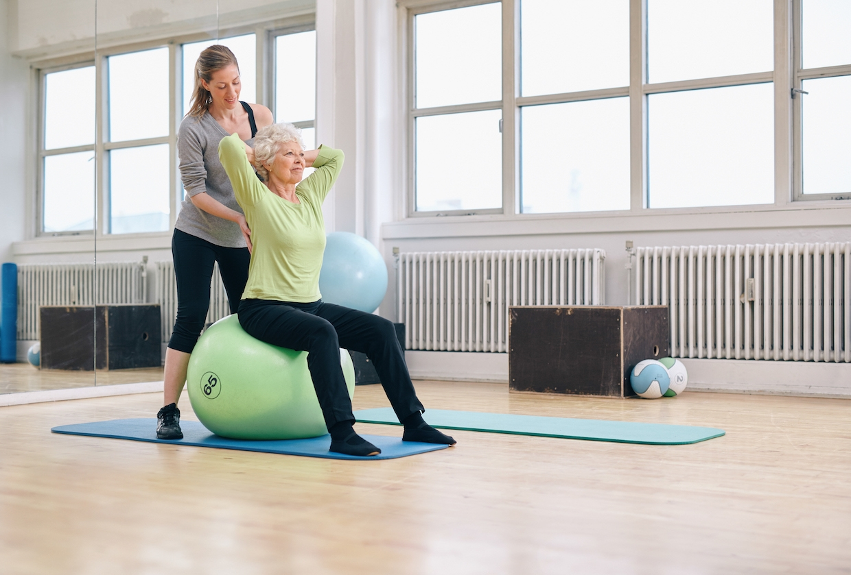 What You Can Do to Improve Core Strength, Balance, and Stability as You Age