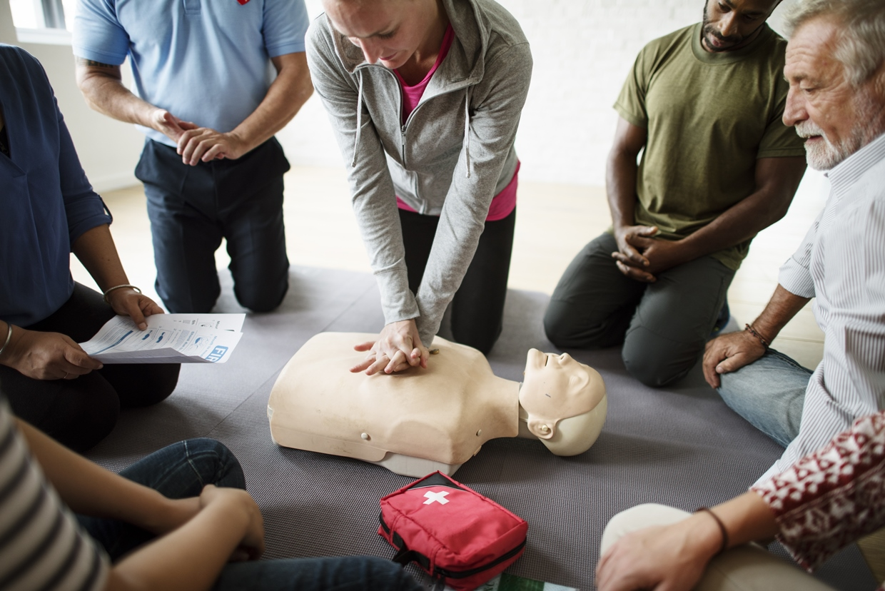 How to Perform CPR & Use an AED: Steps & Videos