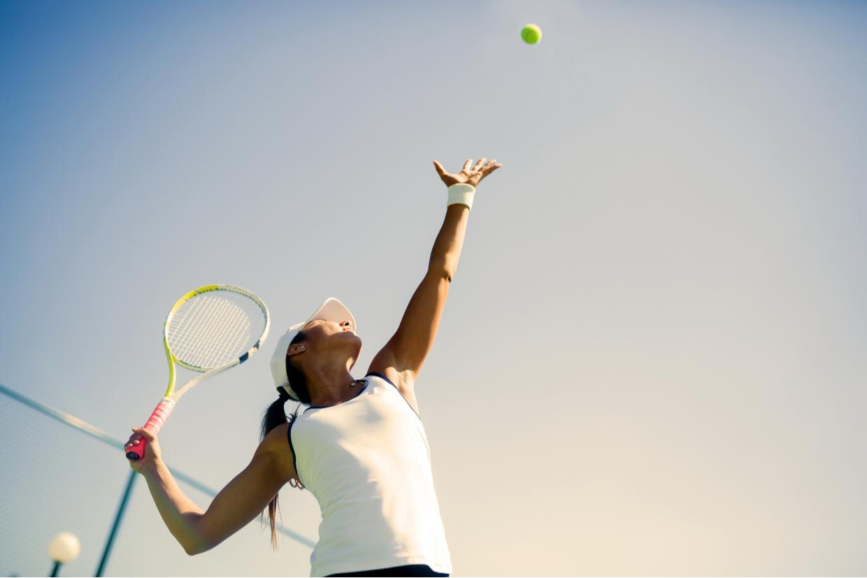 The Best Exercises for Tennis Players: Improve Your Serve