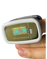 Economy Pulse Oximeter in Use