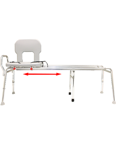 Toilet-to-Tub Sliding Transfer Bench (XX Long)