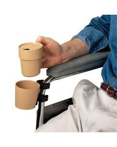 Sammons Preston Cup and Holder for Wheelchair
