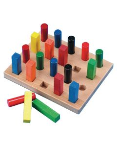 Assorted Square and Round Pegboard