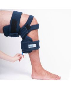 Comfy Locking Pull Ring Knee Orthosis