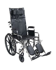 Drive Chrome Sport Full Reclining Wheelchair