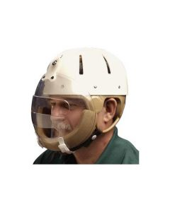 Hard Shell Helmet with Face Guard