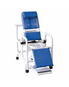 MJM Reclining Shower/Commode Chair