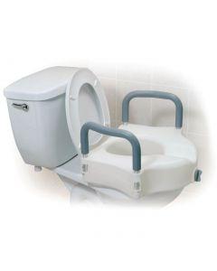 Locking Elevated Toilet Seat