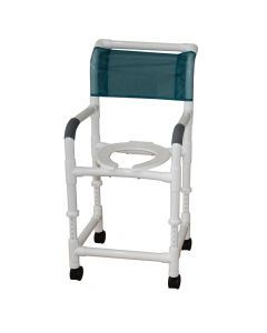 Adjustable Height Rolling Shower Chair
