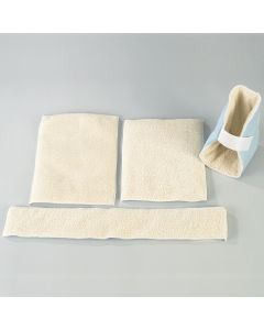 Universal Two-Piece Patient Pad Kit (Lambswool)