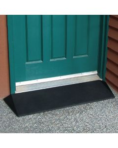 EZ-ACCESS Rubber Threshold Ramp with Beveled Sides