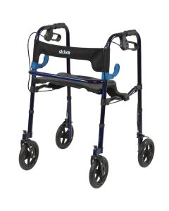 Drive Clever-Lite Walker/Rollator with Seat and Loop Locks