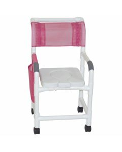 Shower Chair with Removable Cutout
