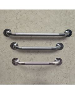 Institutional Steel Knurled Grab Bar