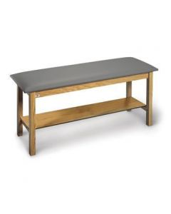 Hausmann Standard H-Brace Treatment Table with Shelf