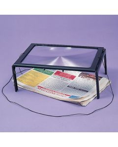 Deluxe Page Size Magnifier with Light