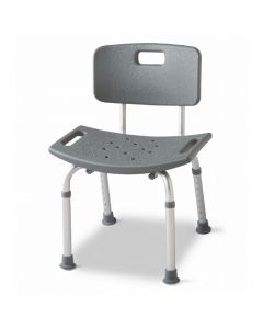 Medline Economy Shower Chair with Back