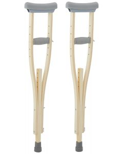 Sammons Preston Wooden Crutches