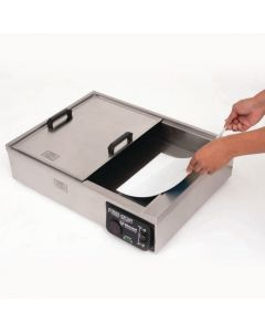 Heat Pan with Sliding Lid
