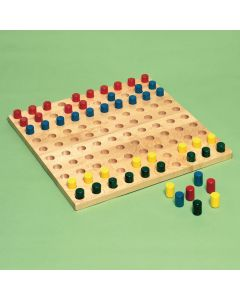 Sammons Preston Pegboard with Colored Pegs