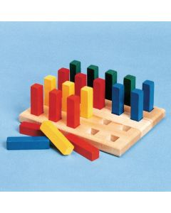 Pegboard with Square Pegs