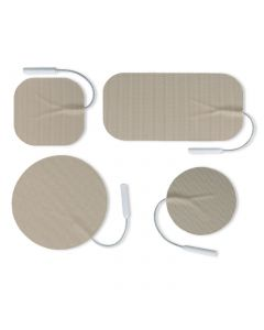 Uni-Patch R Series Tan Tricot Electrodes