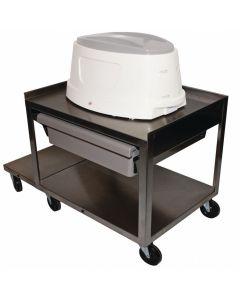 Paraffin Service Cart