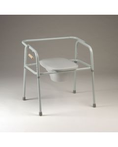 Bariatric Heavy-Duty Commode with Elongated Seat