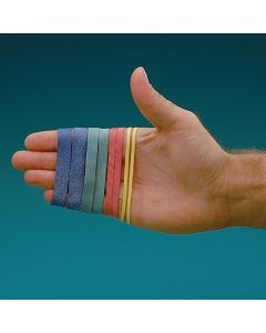 Color Coded Latex-Free Rubber Bands