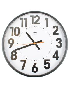 15 Wall Clock with Large Bold Numbers