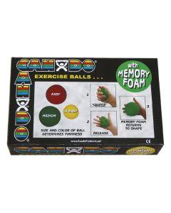 CanDo Memory Foam Ball Exerciser