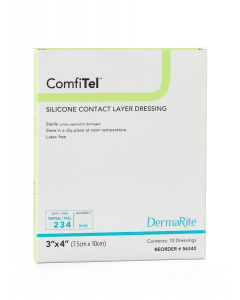 ComfiTel Silicone Contact Layer Wound Dressing