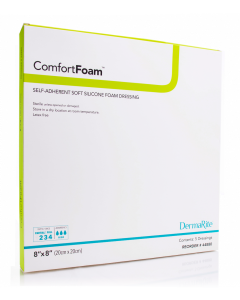 ComfortFoam Foam Wound Dressing With Soft Silicone Adhesive