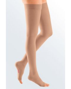 Mediven Plus - 20-30 mmHg Thigh with Beaded Silicone Top Band