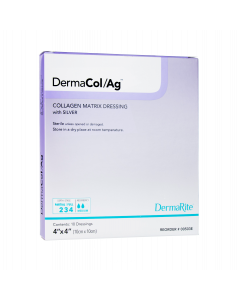 DermaCol Ag Collagen Matrix Wound Dressing With Silver