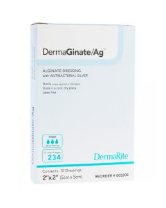 DermaGinate Ag Alginate Wound Dressing with Antibacterial