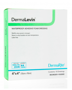 DermaLevin Waterproof Adhesive Foam Wound Dressing