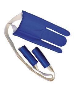 Flexible Sock Aid with Foam Handles