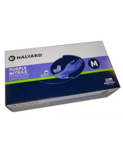 Halyard Powder-Free Purple Nitrile Exam Gloves (formerly Safeskin)