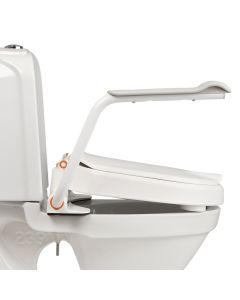 Etac Hi Loo Raised Toilet Seat with Armseat