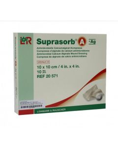 Suprasorb A+ Ag Calcium Alginate Dressing with Antimicrobial Silver