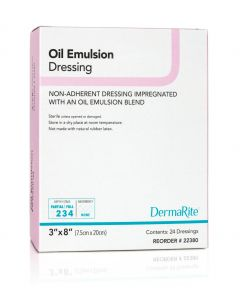 Oil Emulsion Non-Adherent Wound Dressing