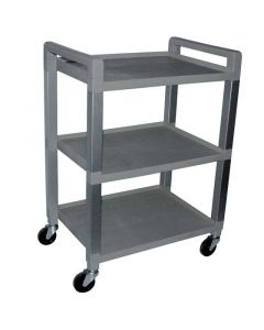 Poly 3-Shelf Cart