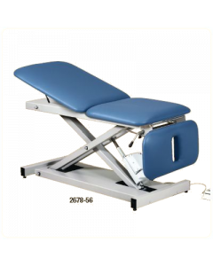Three Section Power Table With Adjustable Backrest and Drop