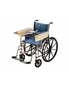 Sammons Preston Slide-On Invisible Wheelchair Tray