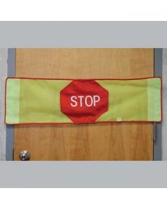 Stop Strip Door Banner